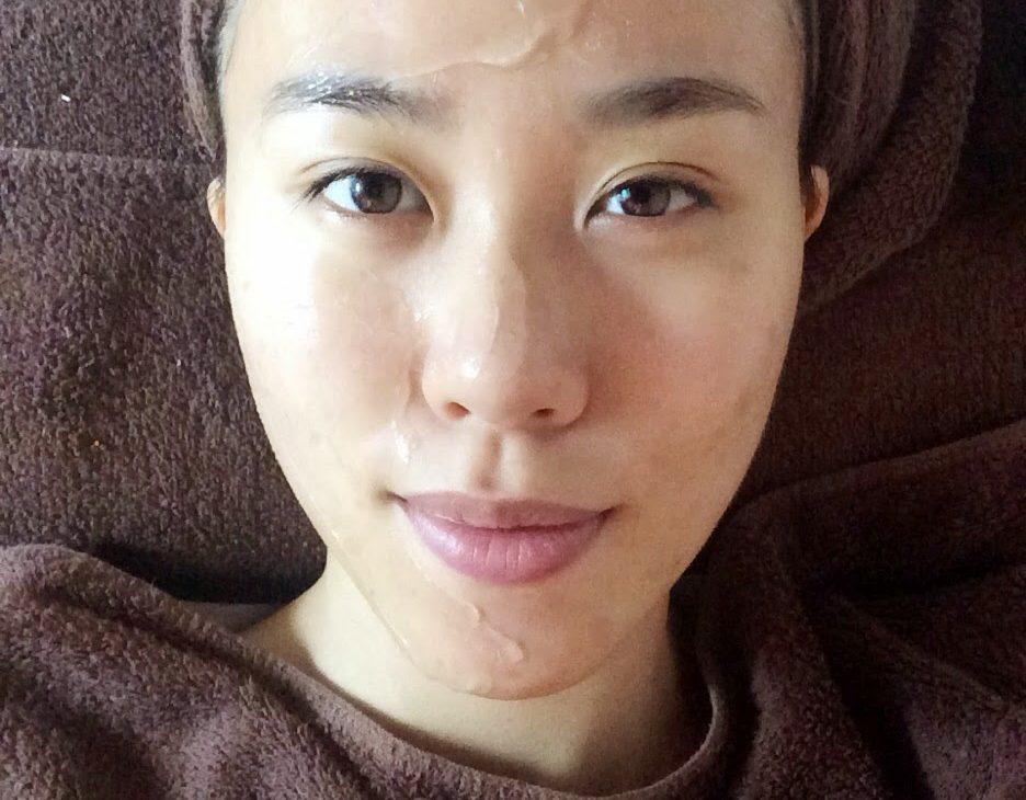 Laser gel application to prevent any skin irritation!