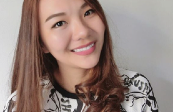 This photo grabbed from Ju Ann's Instagram account shows her glowing and skin-tight face 2 months after her Ultherapy treatment