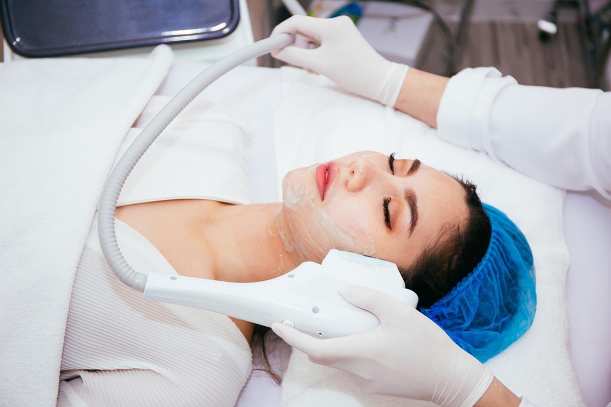 Face lifting procedure