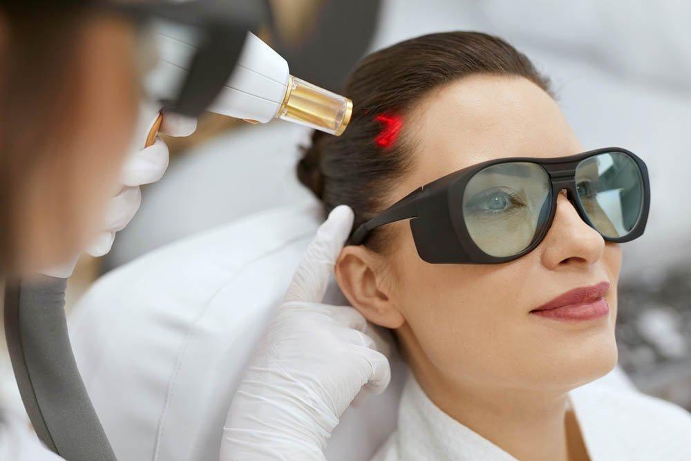 Hair Growth Laser Stimulation Treatment